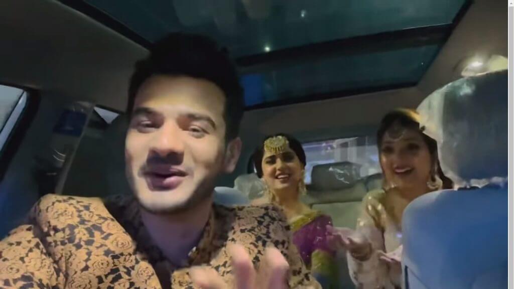 Kanwal Aftab Makes A Stylish Appearance At Dr. Madiha And MJ Ahsan's Reception