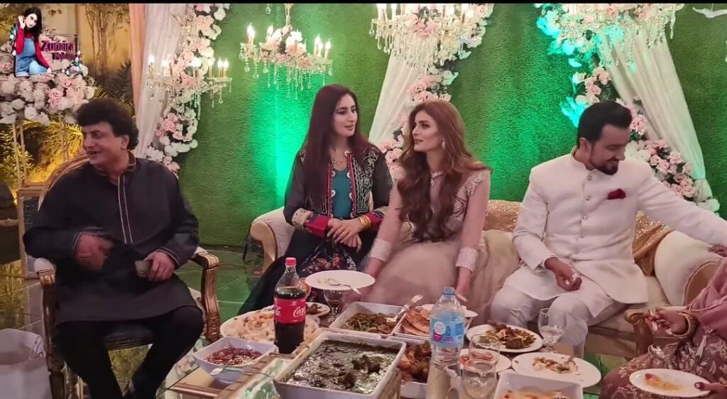 Inside Pictures From Actor Khalil Ur Reham Qamar's Daughter's Wedding Reception