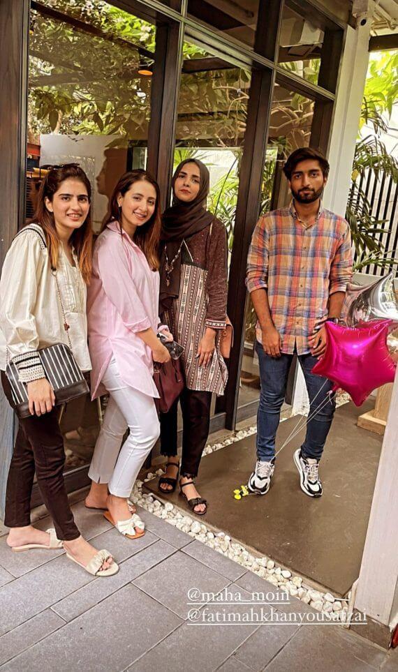 Mohlat Actress Komal Aziz Khan Enjoying Birthday Party With Friends