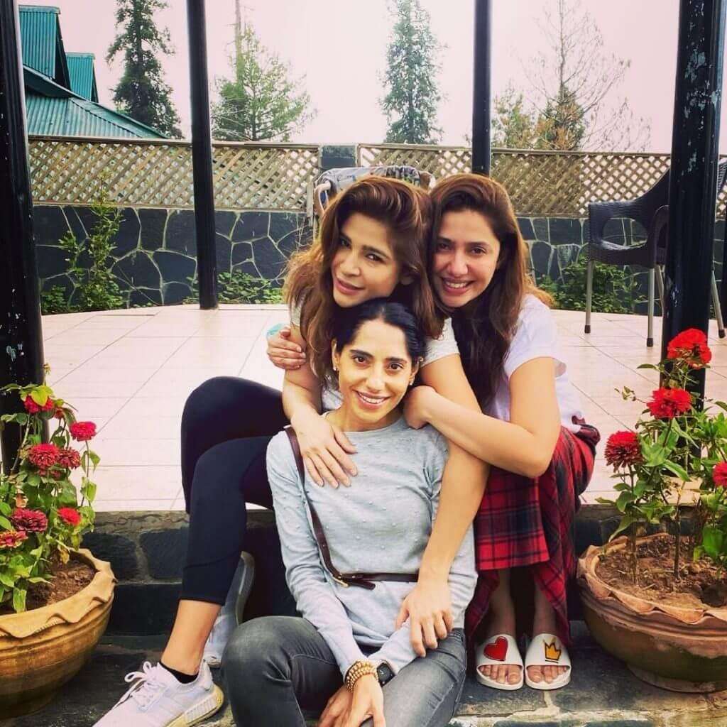 Mahira Khan With Her Fiance Salim Karim