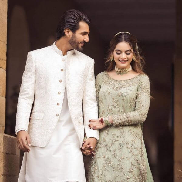 Aiman Khan Shares Stunning Pictures From Minal Khan, Ahsan Mohsin Ikram's Engagement Ceremony