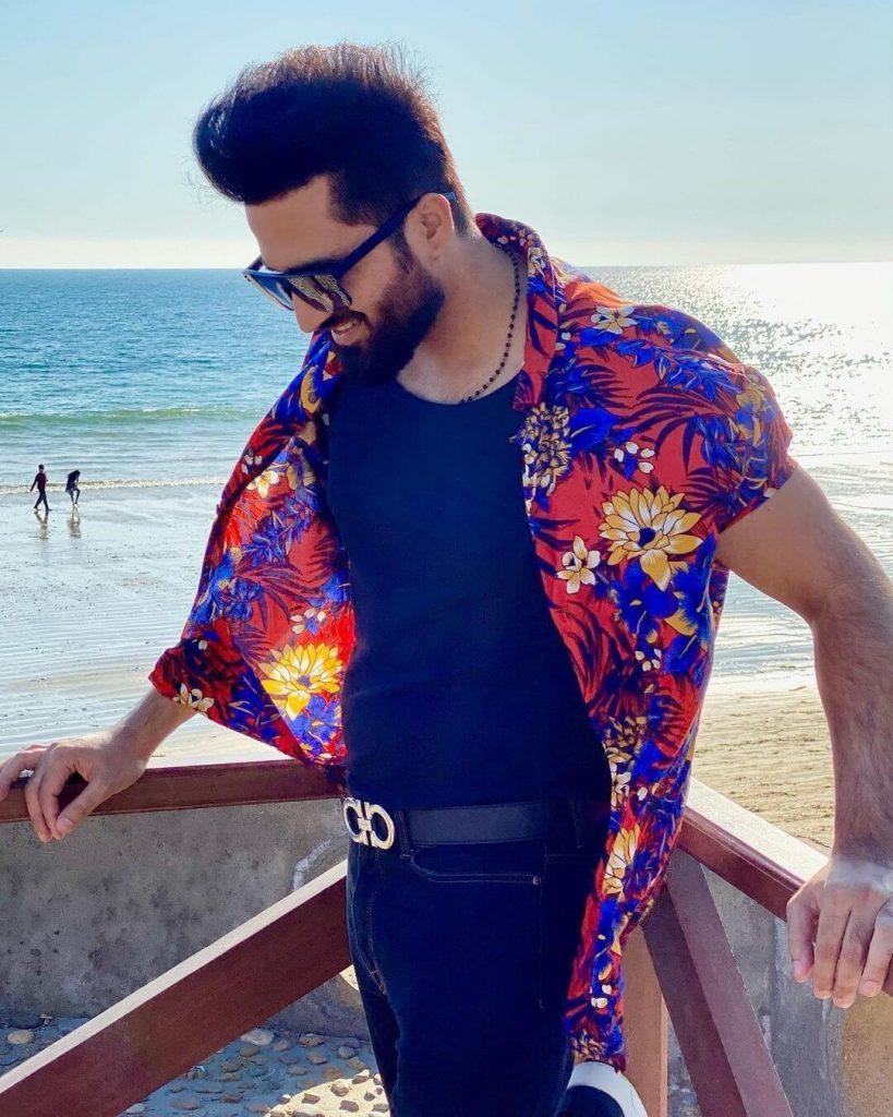 Rabab Hashim Enjoys Vacation Time On Beach, Shares Adorable Snaps With Husband