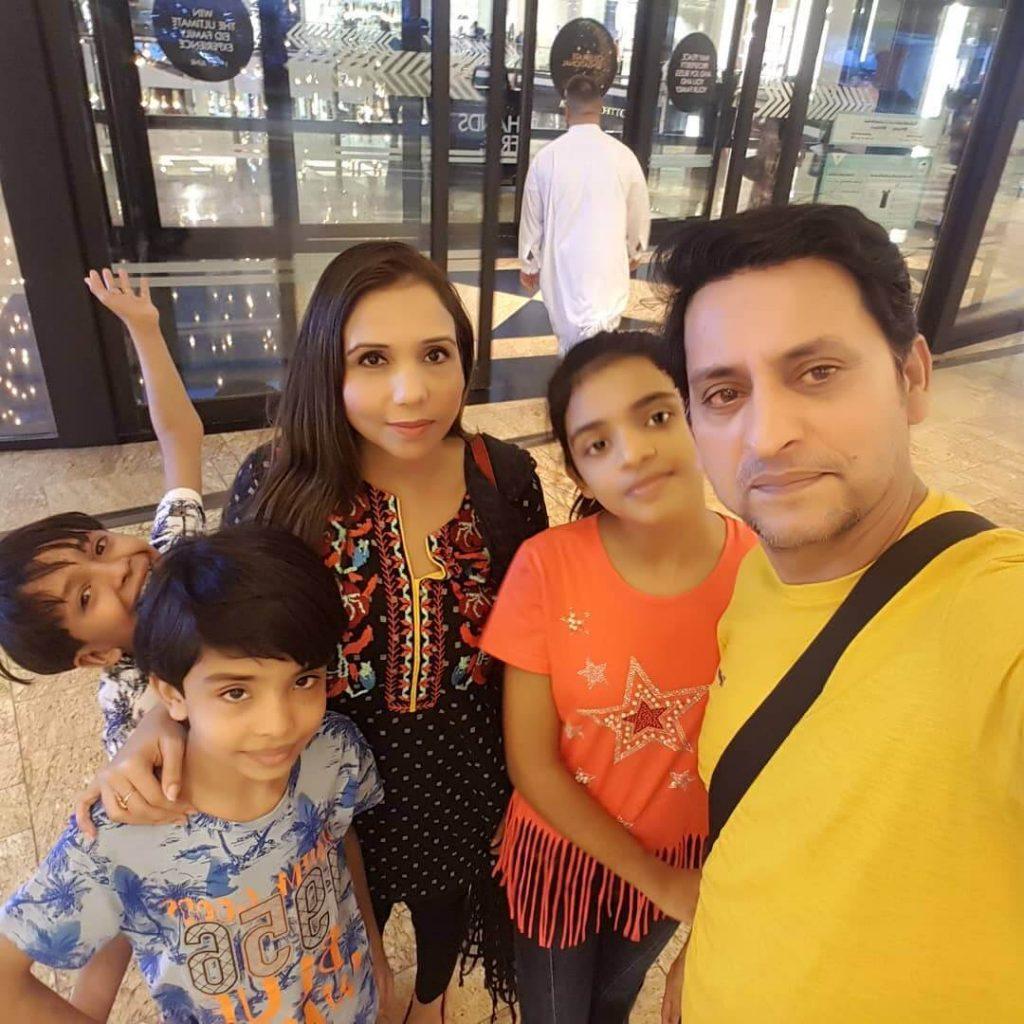 Saleem Mairaj New Adorable Clicks With His Family