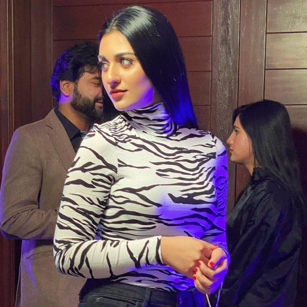 Sarah Khan Khan Latest Photoshoot for Clothing Brand