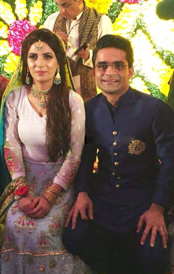 Shahzeb Khanzada Wedding Pictures With His Wife Rushna