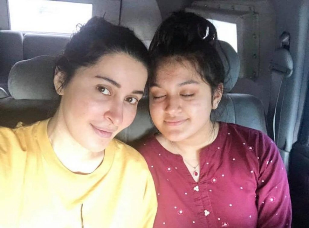 Shaista Lodhi Daughter Emaan Looks Gorgeous in Her Latest Pictures