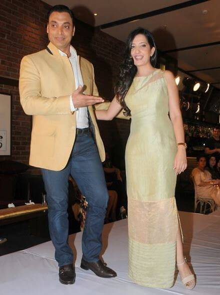 Shoaib Akhtar Latest Beautiful Pictures With His Wife Rubab Khan