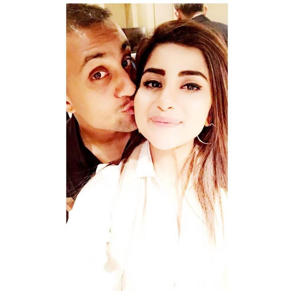 Beautiful Pictures of Sohai Ali Abro Enjoying The Holidays With Her Husband