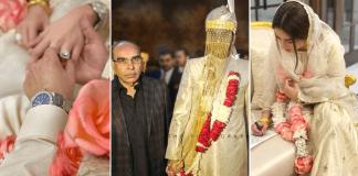 Alyzeh Gabol Marries Malik Riaz's Nephew in Secret Ceremony