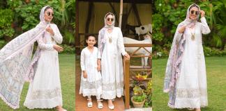 Ayeza Khan's Gorgeous Looks From Eid-ul-Adha 2021
