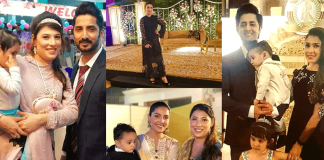 Beautiful Family Pictures of Ayeza Khan With Her Husband And In-Laws