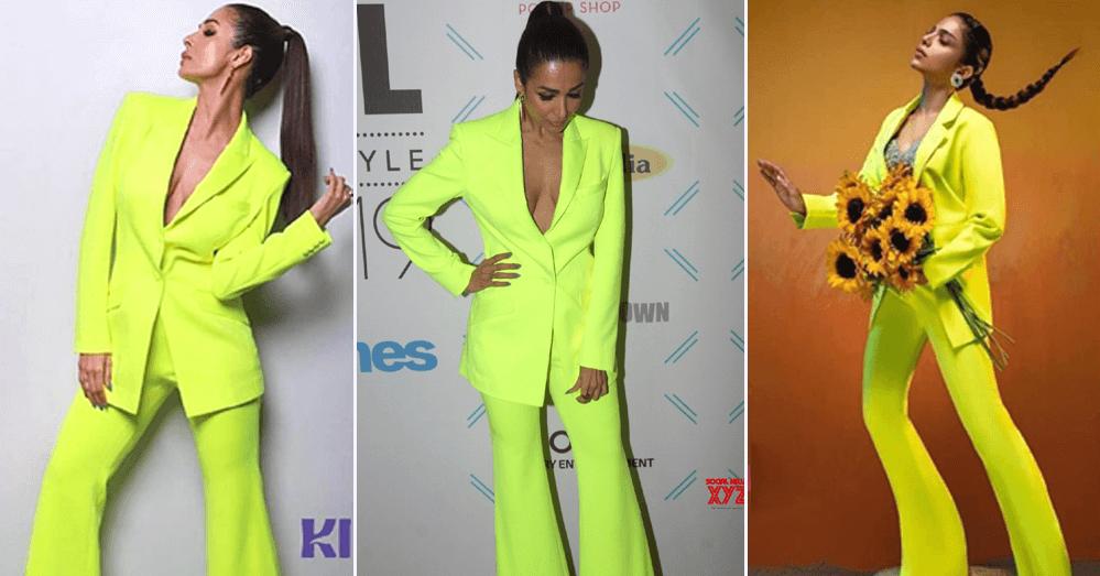 OMG: Sonya Hussyn Copies Malaika Arora At Hum Style Awards 2021
