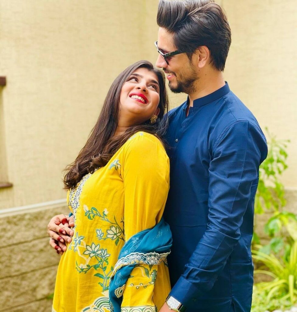 Beautiful Pictures of Ahmed Godil Wife Asra Ahmed Expecting Their First Baby