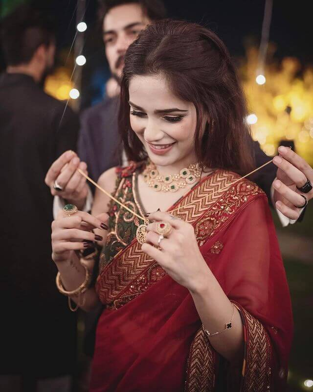 Aima Baig and Shahbaz Shigri Are Engaged - Pictures