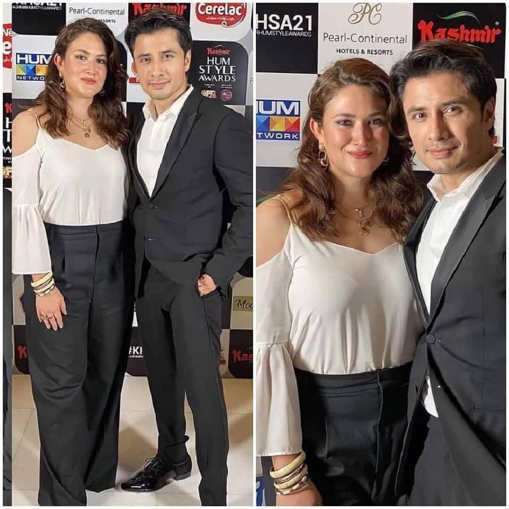 Latest Pictures of Ali Zafar With His Wife