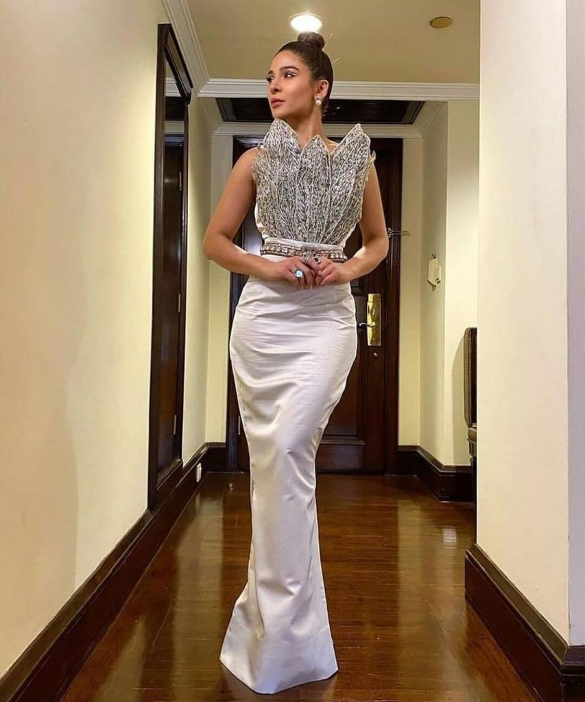 Ayesha Omar At HUM Style Awards 2021
