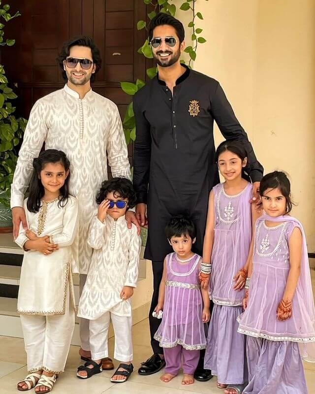 Ayeza Khan celebrates Eid with Danish Taimoor and family. See pics