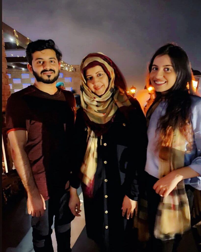 Beautiful Pictures of Syeda Bushra Iqbal With Her Kids