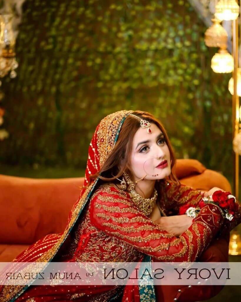 Hira Mani, Kanwal Aftab Rock Same Bridal Dress, But Totally Different Looks. See Pics
