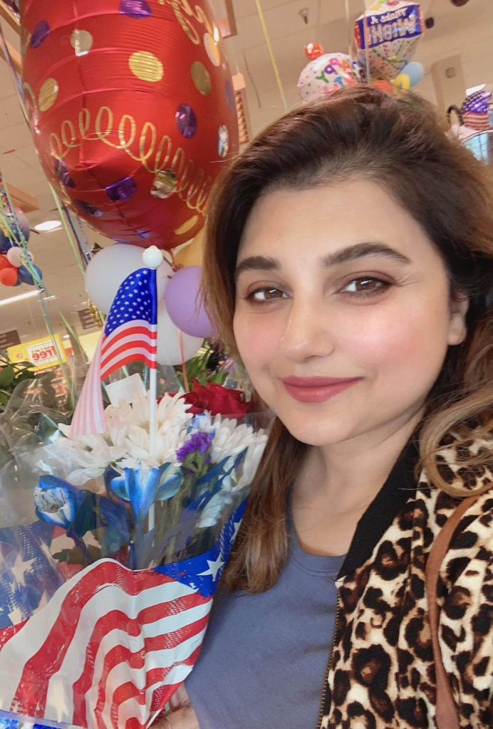 Latest Pictures of Javeria Saud From Her Trip To USA