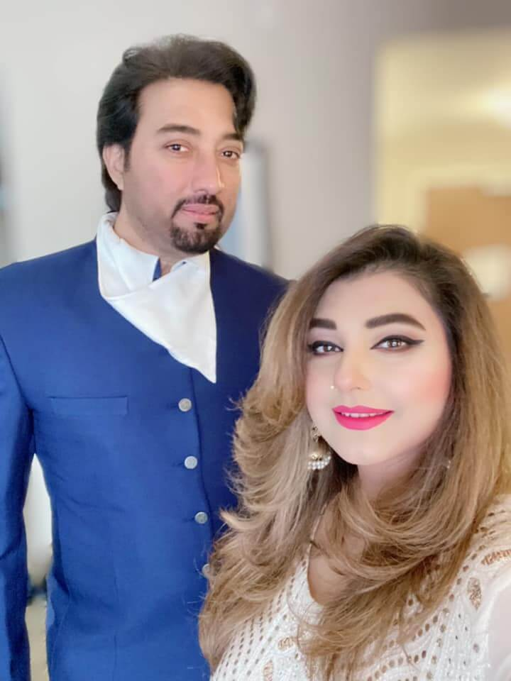 Javeria Saud Shares Adorable Eid Pictures With Her Husband