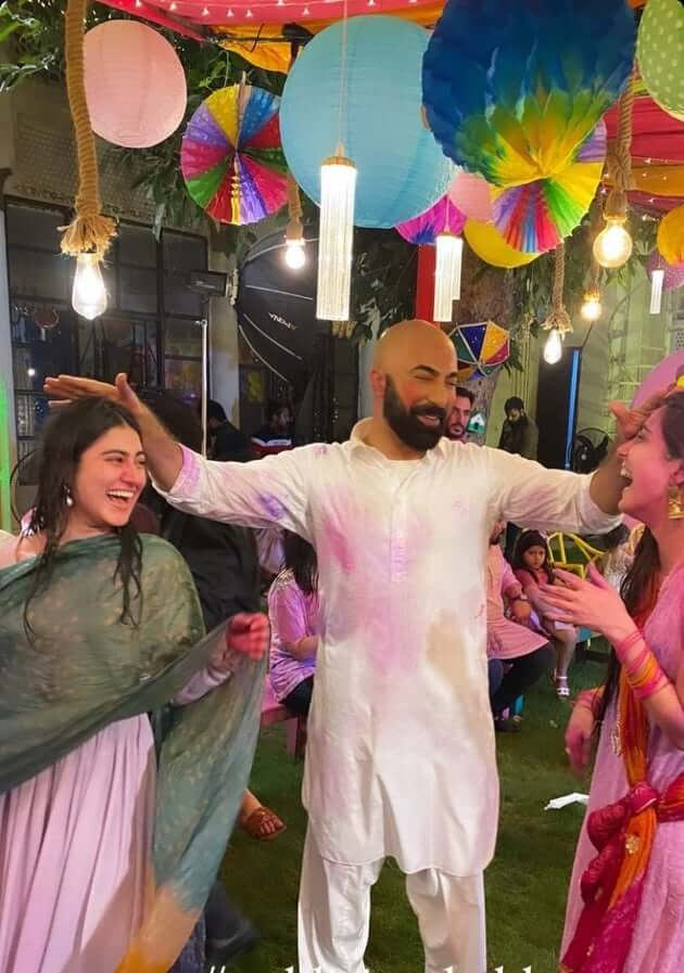 Inside photos from Maya Ali's intimate and colourful 33rd birthday bash