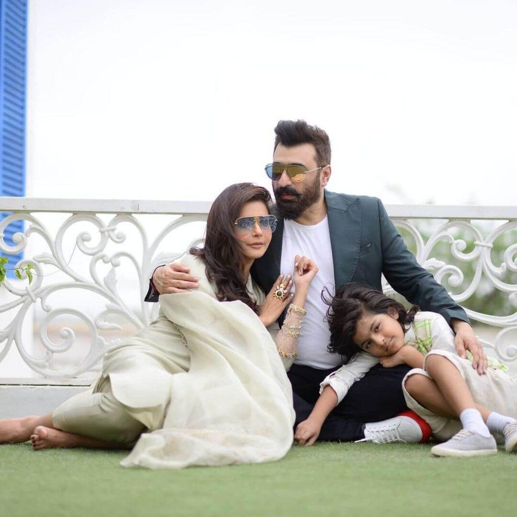 Yasir Nawaz Celebrated Eid-ul-Adha With Wife Nida Yasir In Karachi
