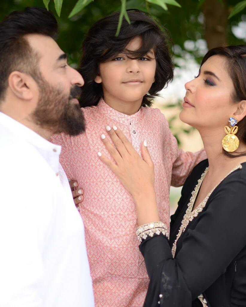 Nida Yasir And Yasir Nawaz Family Pictures from Eid Day 2