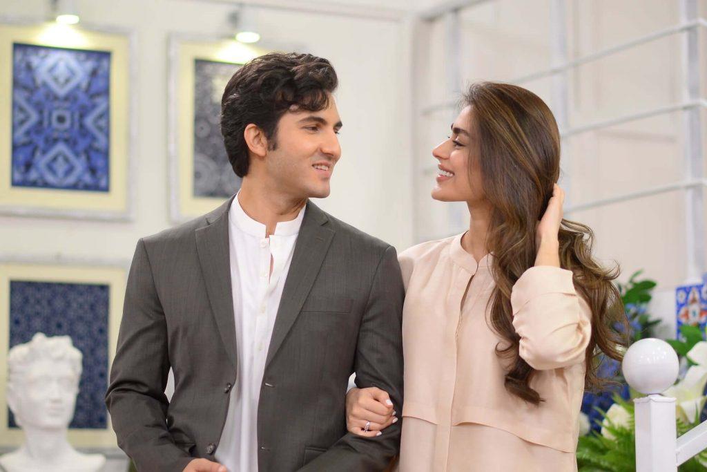 Beautiful Pics of Newly Wed Couple Sadaf Kanwal And Shehroz Sabzwari