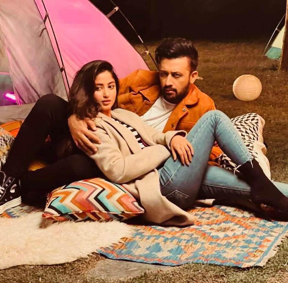 Atif Aslam And Sajal Ali Pair Up For A Photoshoot - Showbiz Pakistan