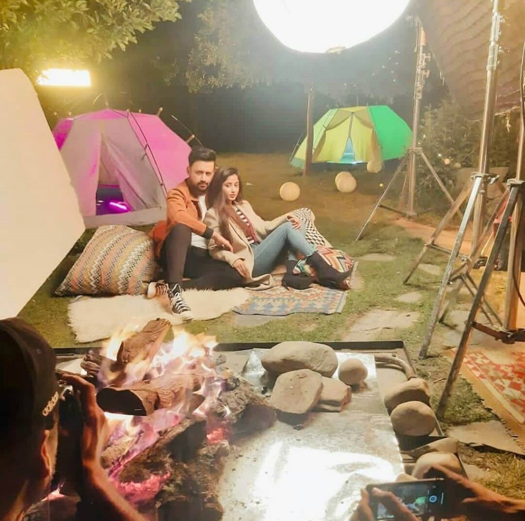 Atif Aslam And Sajal Ali Pair Up For A Photoshoot