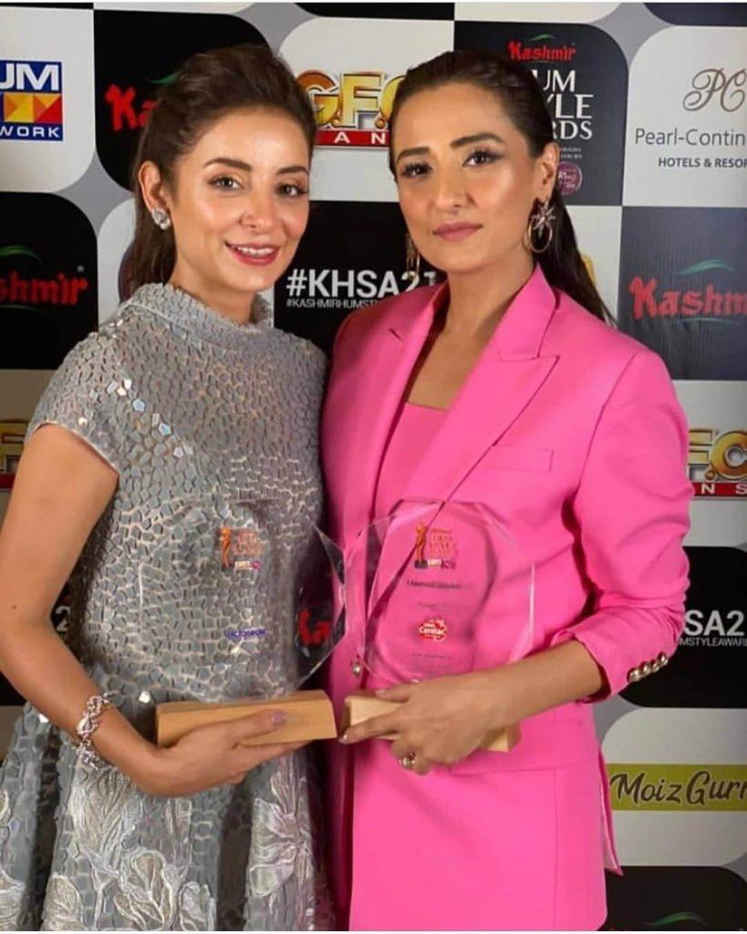 Sarwat Gillani Stuns At The Hum Style Awards 2021