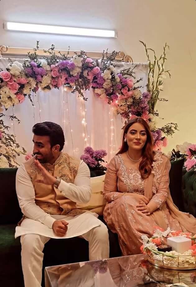 Beautiful Pictures of Shagufta Ejaz Daughter Anaya Ali Engagement Ceremony