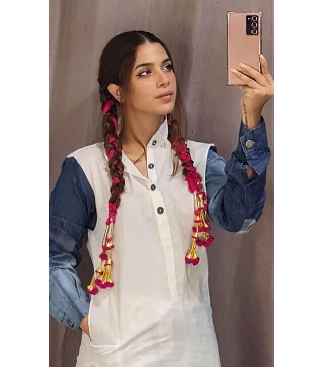 Actress Sonya Hussyn became a boy on Eid-ul-Adha