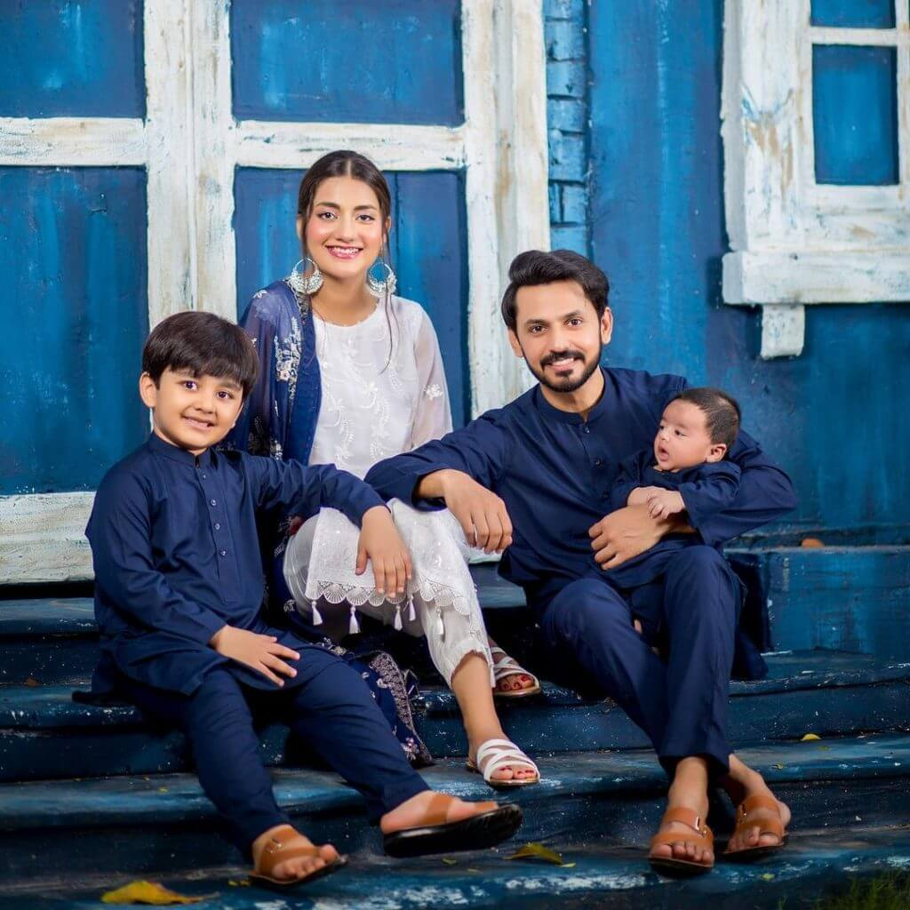 Uroosa Qureshi shares a sweet family photo to wish her fans Eid Mubarak