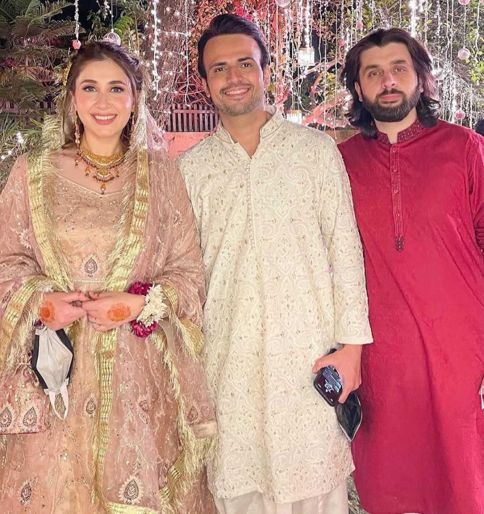 Latest Pictures of Usman Mukhtar With His Wife