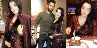 Imad Wasim, Sannia Celebrate 2nd Wedding Anniversary