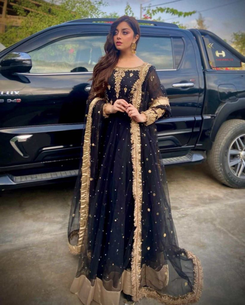 Beautiful Clicks of Alizeh Shah Attends Her Friend's Wedding