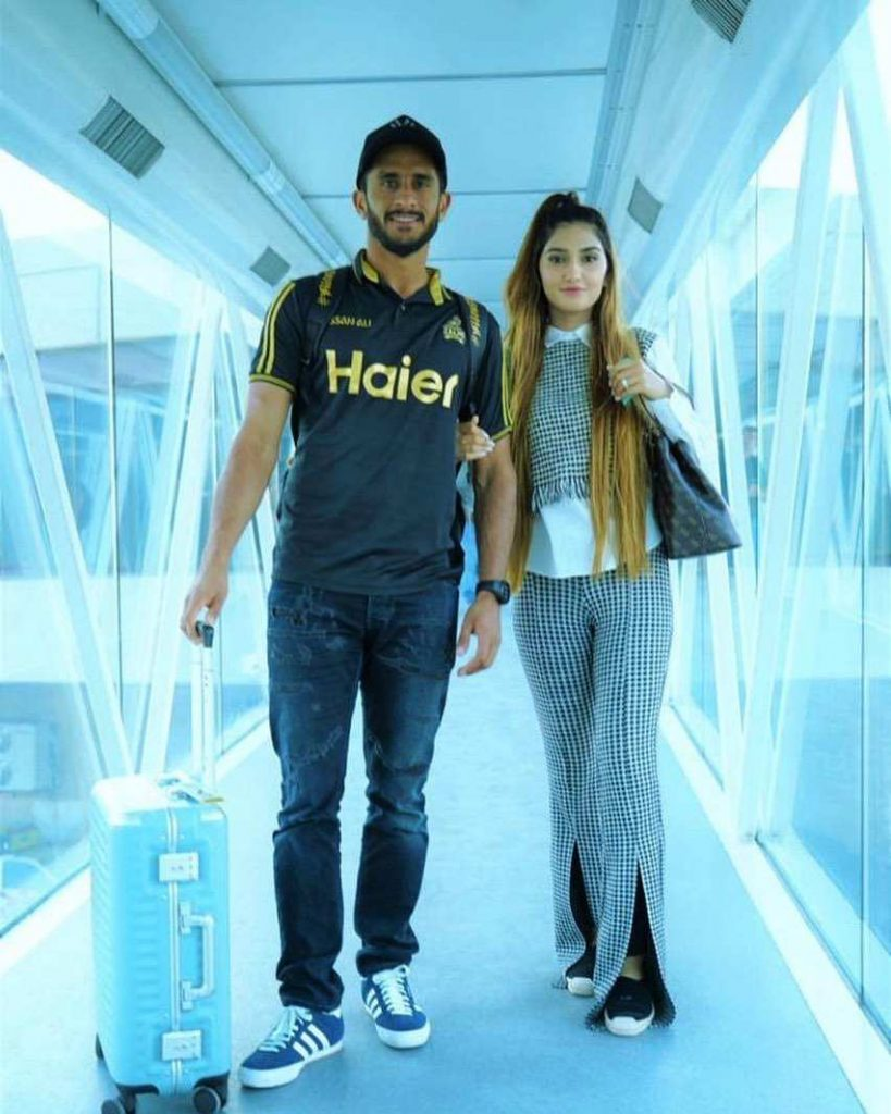 Hasan Ali latest clicks with wife on Wedding Event