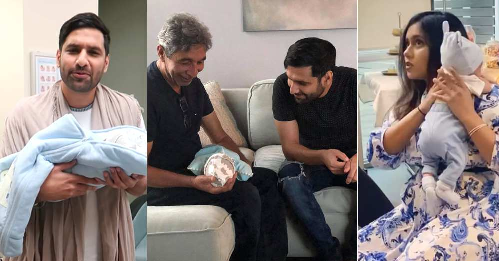 Aqiqah Pictures Of Zaid Ali And Yumnah Zaid Son Izyan