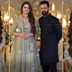Atif Aslam-Sara Bharwana attend a friend's family wedding
