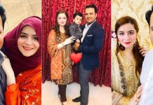 Beautiful Family Pictures of Sharjeel Khan With His Wife And Kids