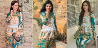 Ditto! Pakistani celebs caught wearing the same outfits