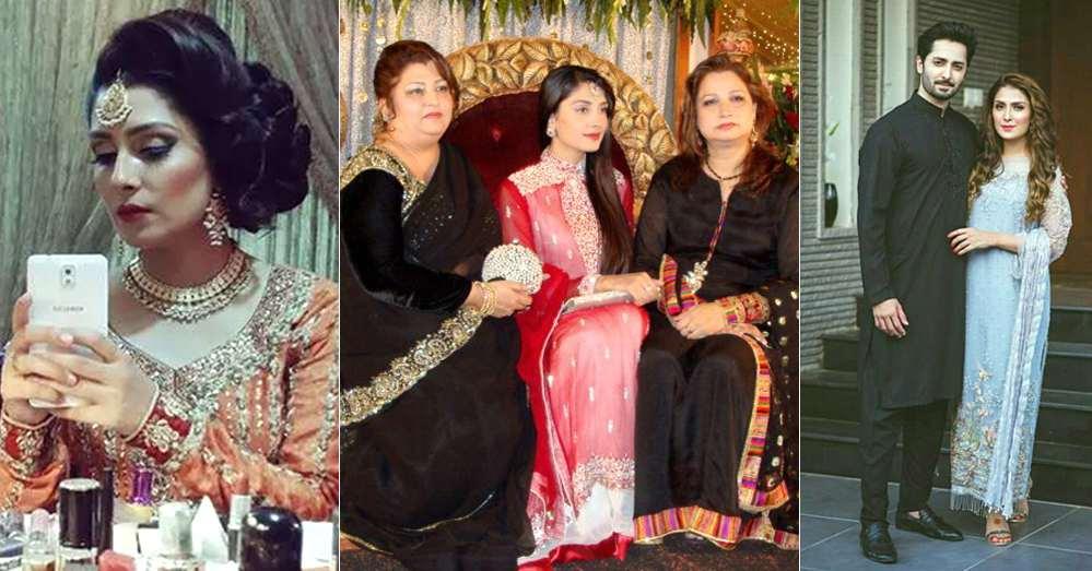 Photo: Ayeza Khan snapped with phupo Rukhsana and cousins