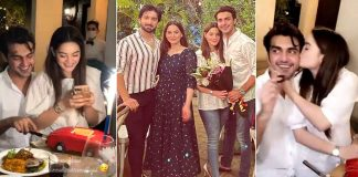 Pictures From Minal Khan's Husband, Ahsan Mohsin 31st Birthday