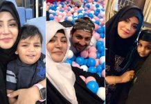 Sarfaraz Ahmed With His Wife And Kids