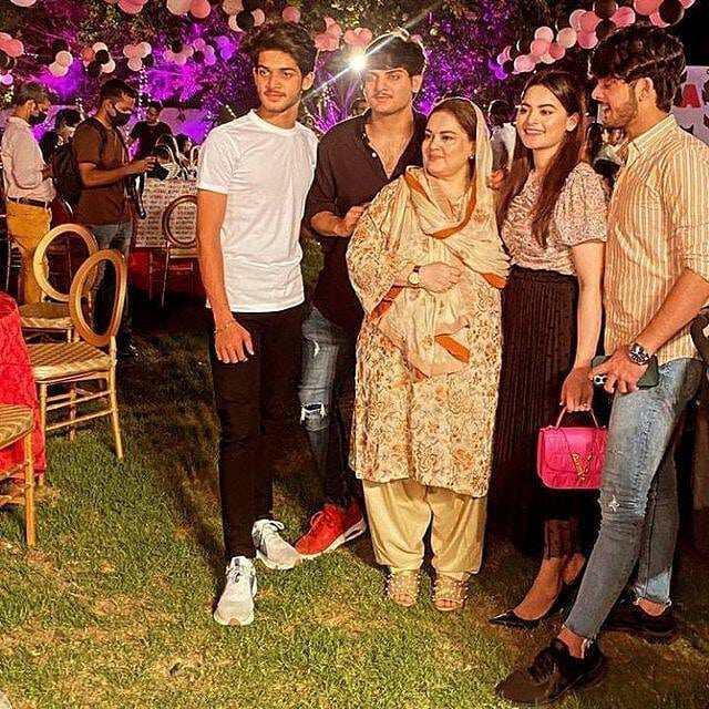 In Pics: Minal Khan and Ahsan Mohsin Ikram on Amal Muneeb's Birthday