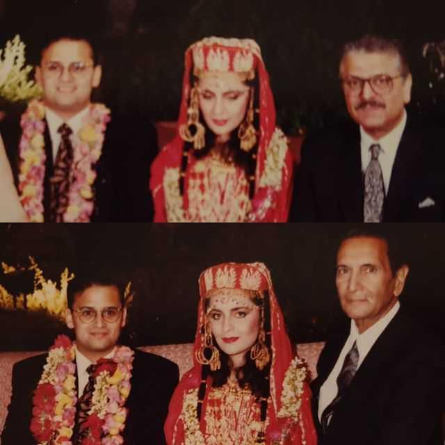Hina Khawaja Bayat With Her Husband Roger Dawood  – Latest Pictures