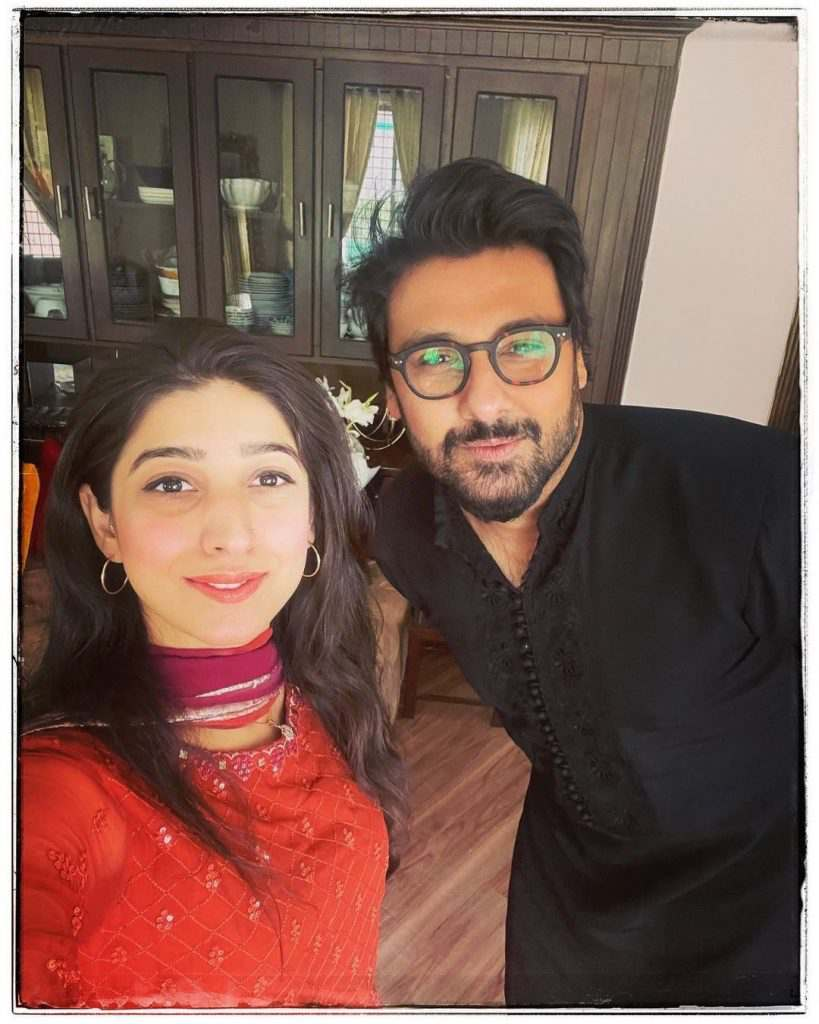 Mariyam Nafees With Her Fiance Amaan Ahmed