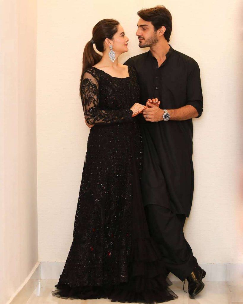 Minal Khan And Ahsan Mohsin Ikram Looking Absolutely Gorgeous In Their Latest Photoshoot